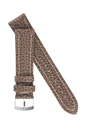 Morellato KUGA Padded Calfskin Leather Watch Strap in BROWN