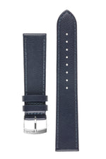 Morellato LAURO Goatskin-Grain Vegan Leather Watch Strap in BLUE