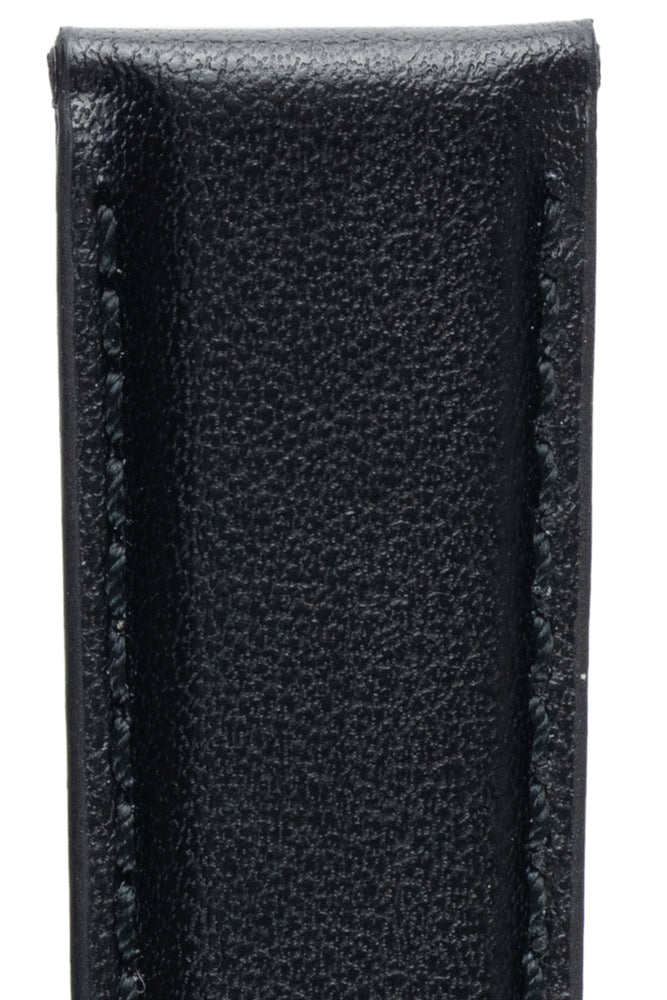 Morellato NAXOS Recycled Leather-Fibre Watch Strap in BLACK