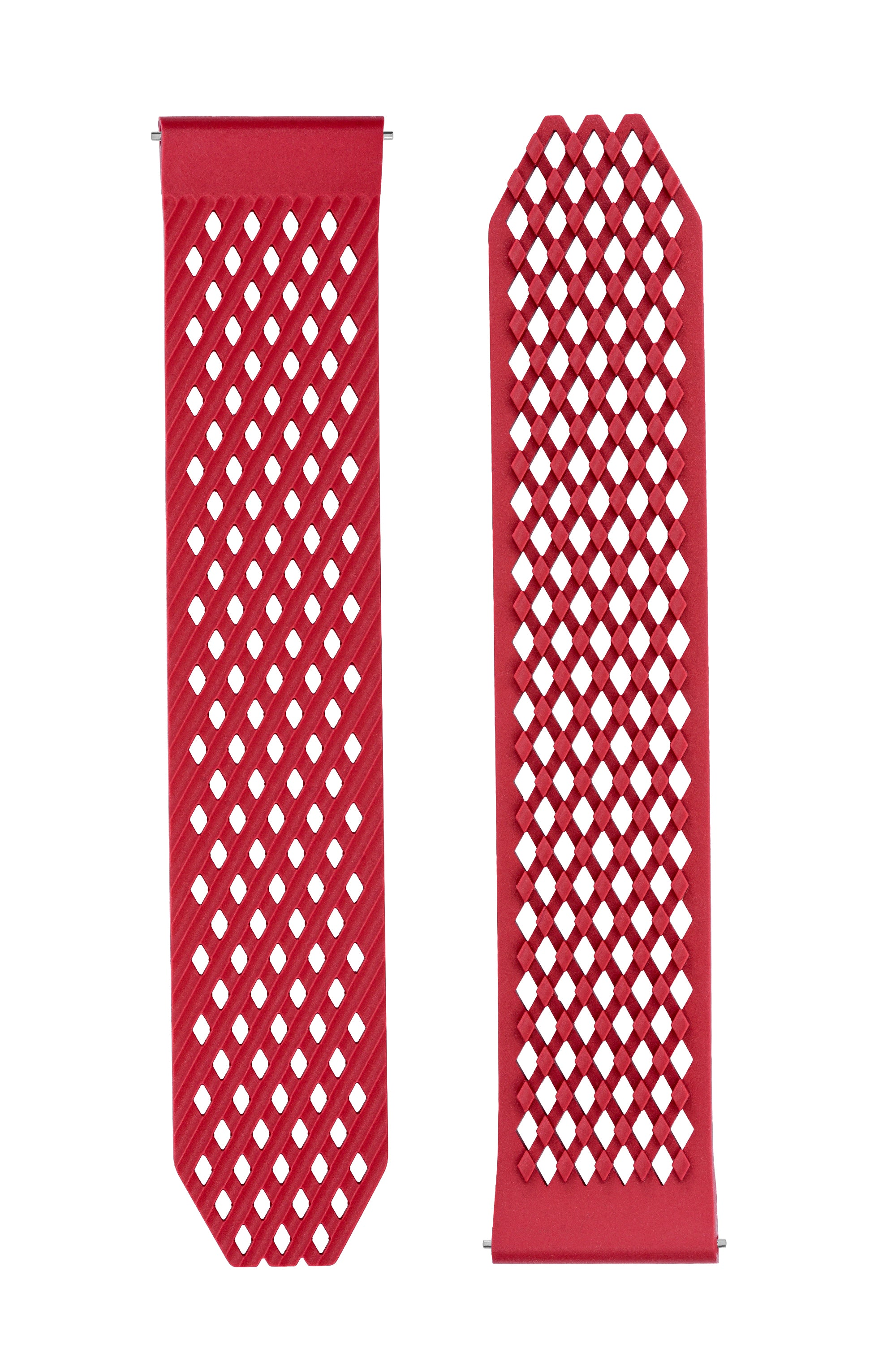 Noomoon LABB Interlocking Quick-Release Watch Strap in RED