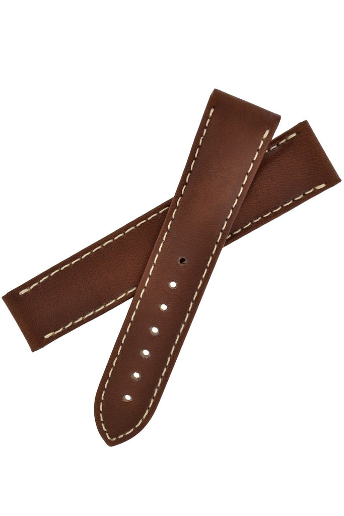 OMEGA Calf Leather Deployment Watch Strap in BROWN - CUZ000219