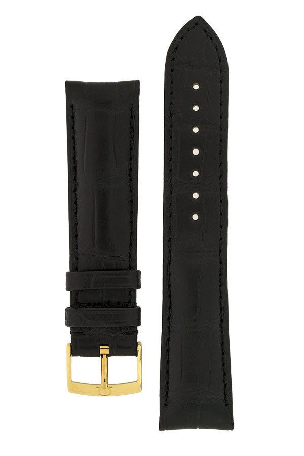 OMEGA Alligator Leather Watch Strap and Buckle - 98000367