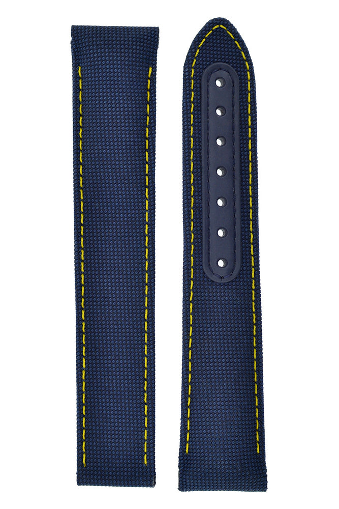 OMEGA 'Spectre' Aqua Terra Nylon Deployment Watch Strap in BLUE