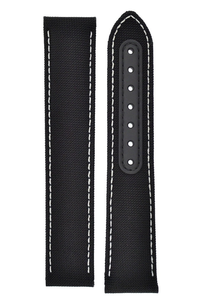 OMEGA 'Snoopy Award' Speedmaster Nylon Watch Strap in BLACK