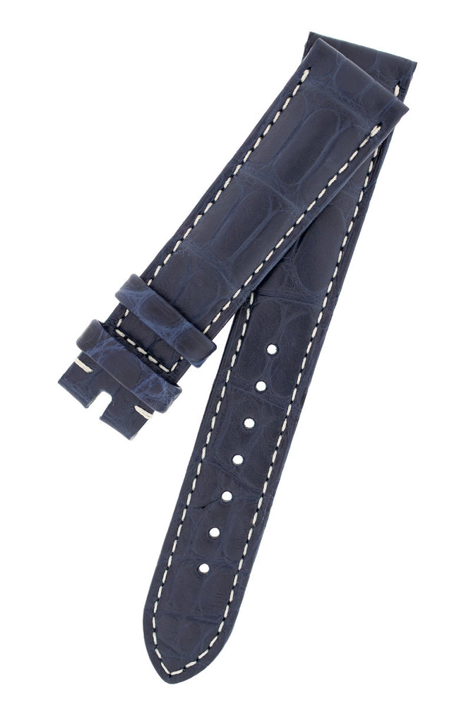 Load image into Gallery viewer, OMEGA CUZ005110 Speedmaster 'CK2998' Alligator Leather Watch Strap in BLUE