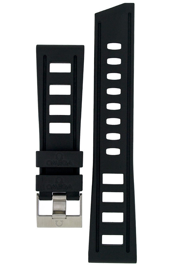 OMEGA Rubber Watch Strap and Buckle - CA4750001