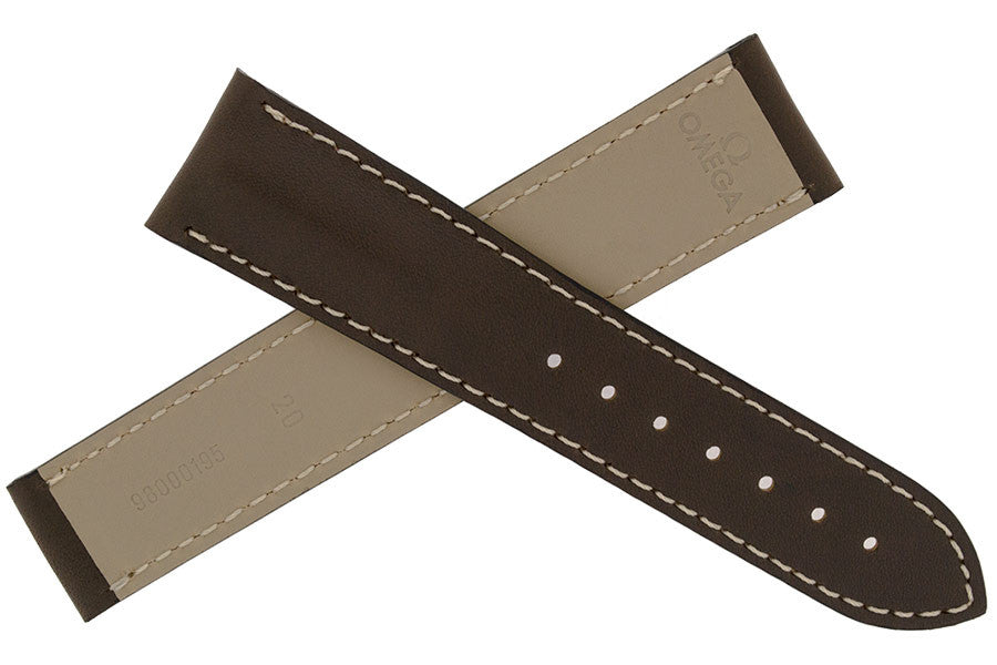 OMEGA Deployment Watch Strap in BROWN - 98000195