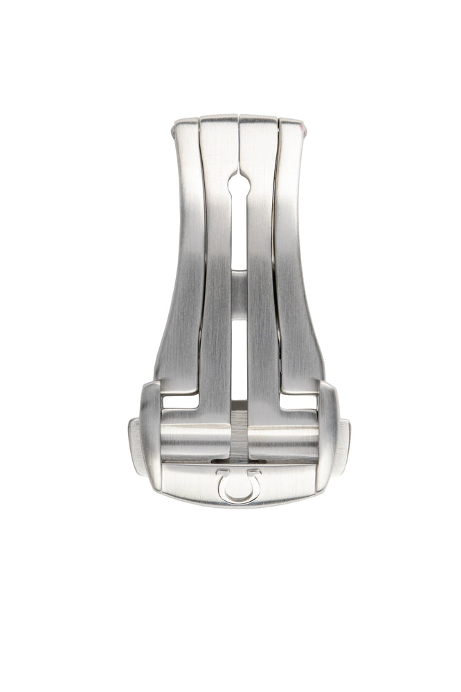 OMEGA 94521643 Satin Stainless Steel 16mm Deployment Clasp