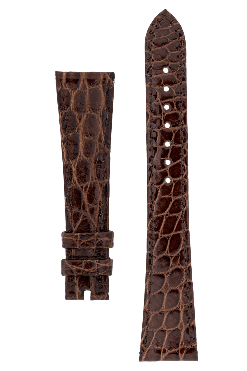 OMEGA Vintage Alligator Watch Strap in BROWN – OME-FAST1914O