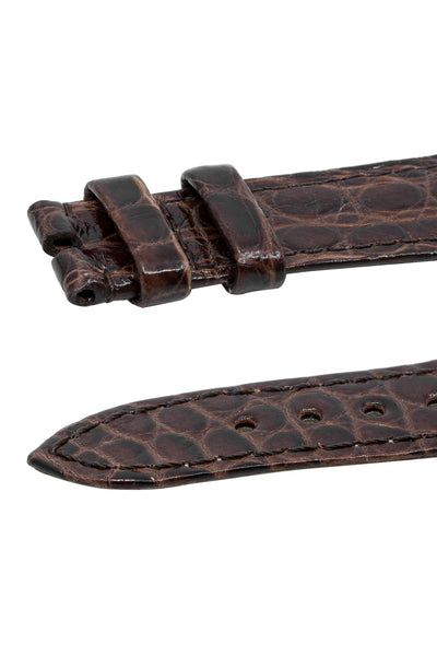 OMEGA Vintage Alligator Watch Strap in BROWN – FAST1814O / FAST1914O