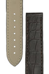 "OMEGA ""Aqua Terra"" Genuine Alligator 20mm Watch Strap in BROWN – 98000276"