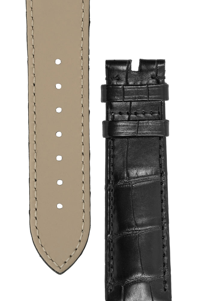 Load image into Gallery viewer, OMEGA Genuine Alligator 20mm Watch Strap in BLACK – 98000413