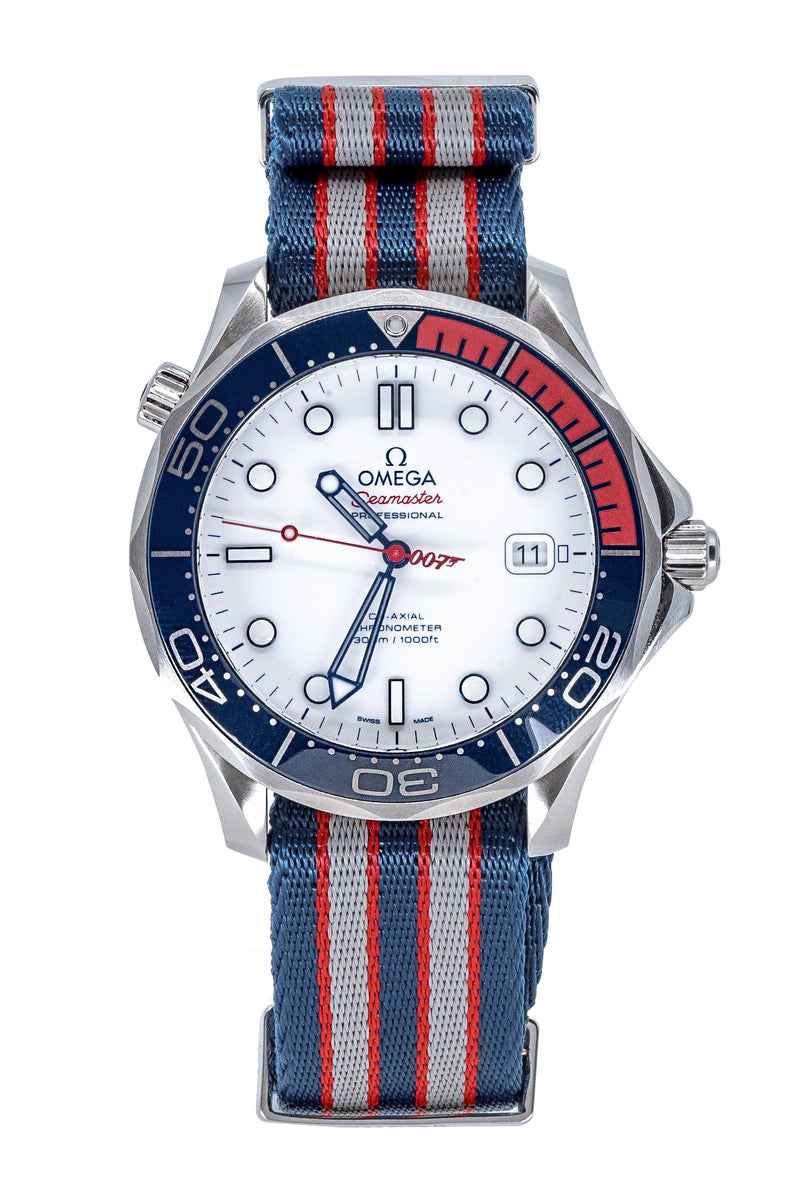 "OMEGA Seamaster Diver 300m Limited Edition ""Commander's Watch"" 41mm – White Dial"