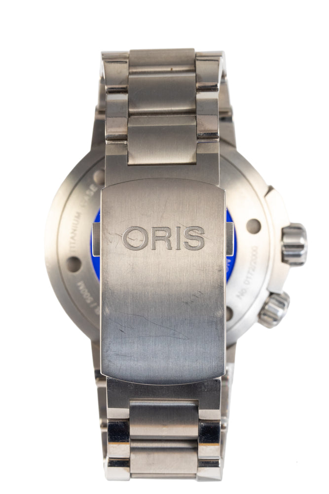 ORIS Carlos Coste Limited Edition IV Titanium Watch - 0174377097184-Set MB - Black Dial