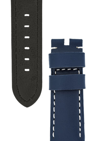 Panerai Style Calf Leather Watch Strap in BLUE