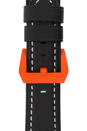 Load image into Gallery viewer, Cerakote Pre-V Tang Buckle in Orange (On Strap)