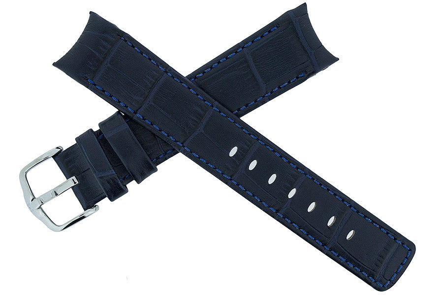 Hirsch Principal watch strap and buckle