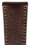 Rios1931 GARMISCH Organic Leather Watch Strap in MOCHA