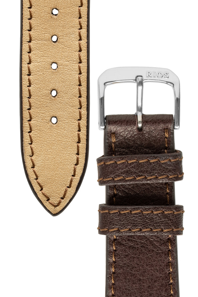 Load image into Gallery viewer, Rios1931 GARMISCH Organic Leather Watch Strap in MOCHA