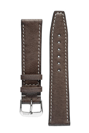 Rios1931 HAVANA Genuine Pigskin Leather Watch Strap in MOCHA