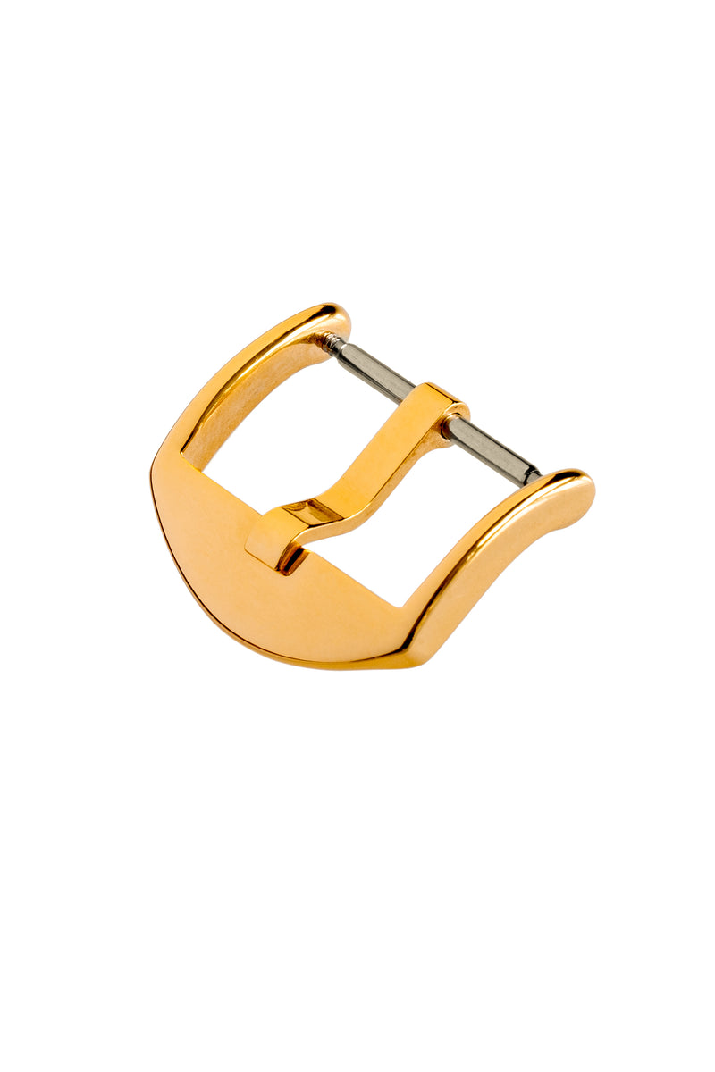 Rios1931 ITALY Stainless Steel Buckle with GOLD Finish
