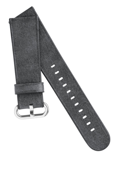 Rios1931 LIFE Genuine Vintage Leather Watch Strap for 42 / 44mm Apple Watch in STONE GREY