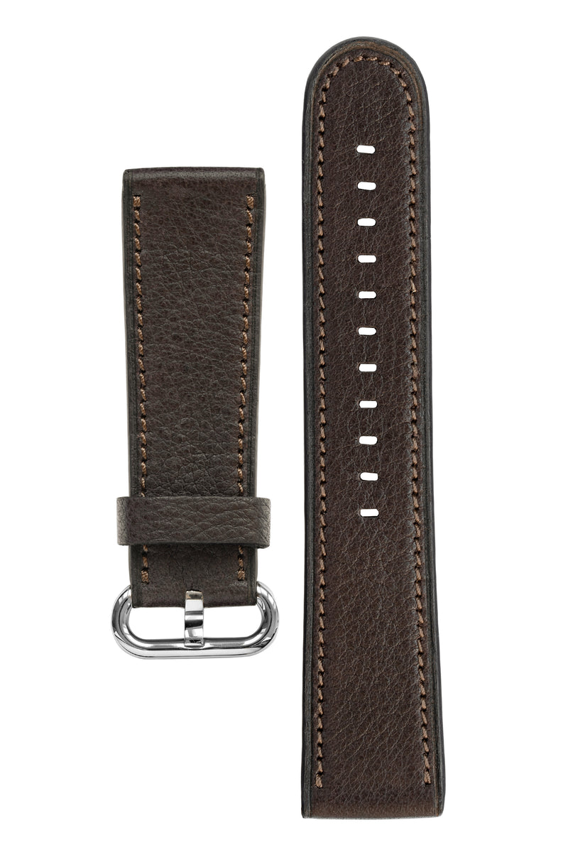 Rios1931 ONLINE Organic Leather Watch Strap for 42 / 44mm Apple Watch in MOCHA