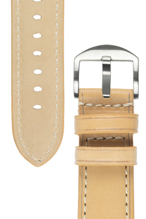 Load image into Gallery viewer, Rios1931 FIRENZE Genuine Russia Leather Watch Strap in SAND