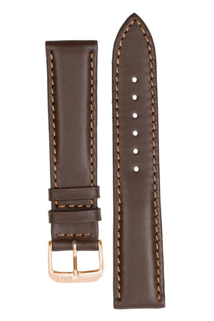 Rios1931 OFF SHORE Hydrophobic Leather Watch Strap in MOCHA
