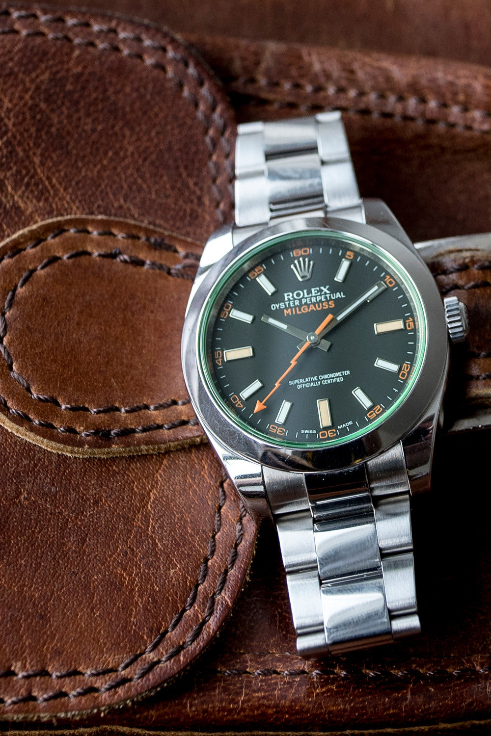 ROLEX Milgauss 40mm 116400GV Automatic Watch