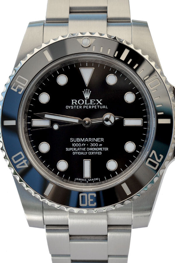 Rolex Submariner No Date Swiss Watch