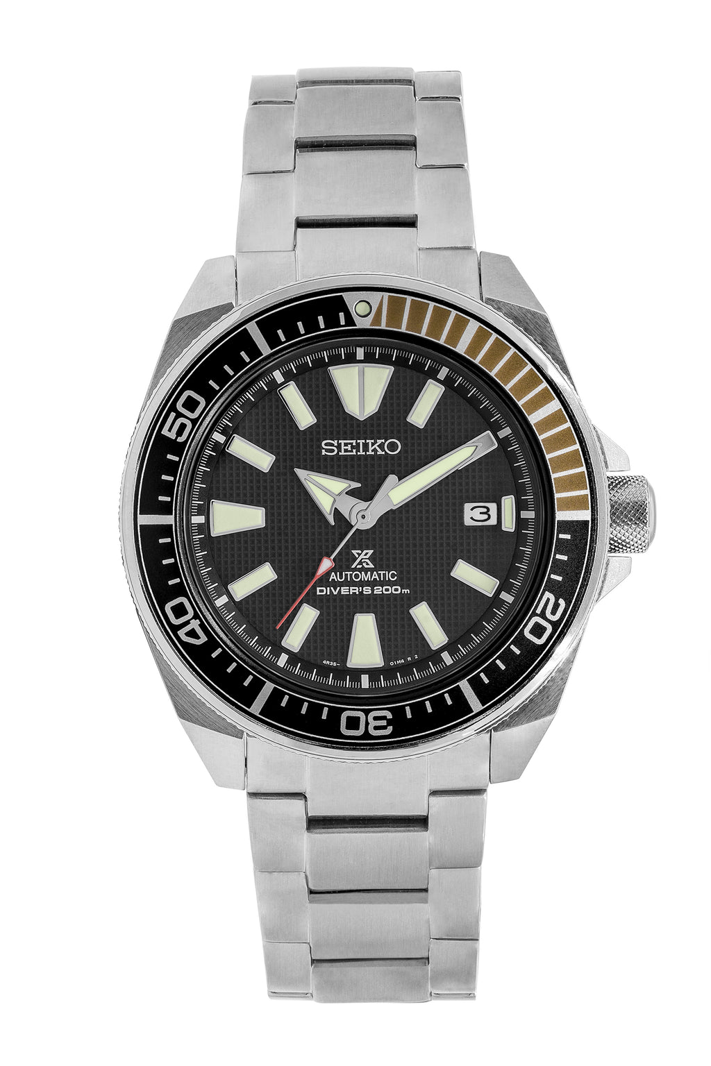 SEIKO Prospex Samurai Automatic Men's Diver Watch - SRPB51K1 – Black Dial