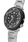 SEIKO Prospex Quartz Solar Men's Diver Watch - SNE497P1 – Black Dial