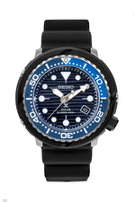 SEIKO Prospex 'Save The Ocean' Solar Men's Diver Watch - SNE518P1 – Black Case with Blue Dial