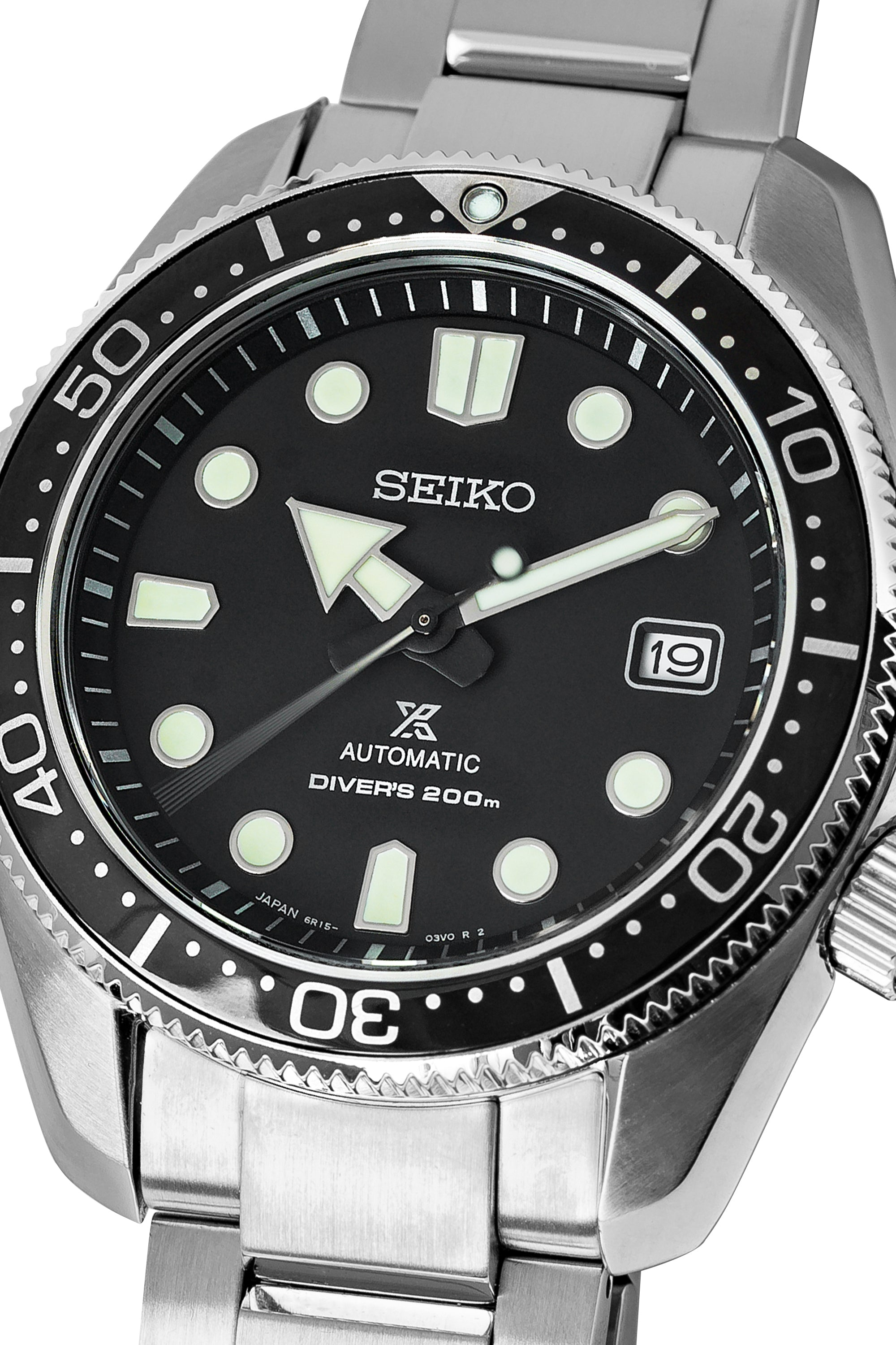 Seiko Prospex Automatic Men S 44mm Diver Watch Spb077j1 Black Dial
