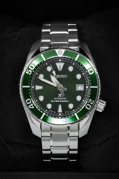 SEIKO Prospex Automatic Men's 45mm Diver Watch - SPB103J1 – Green Dial