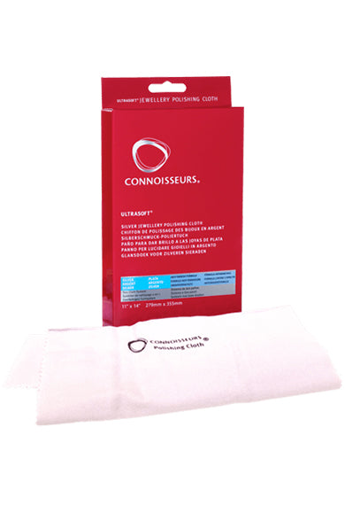 CONNOISSEURS Silver Jewellery Polishing Cloth