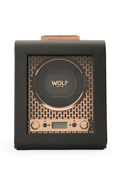 WOLF AXIS Single Watch Winder in COPPER