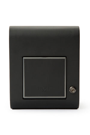 Load image into Gallery viewer, WOLF AXIS Single Watch Winder in POWDER BLACK