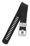 CRAFTER BLUE Rubber Watch Strap for Tudor Black Bay Series – BLACK