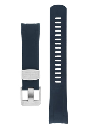 CRAFTER BLUE Rubber Watch Strap for Tudor Black Bay Series – NAVY