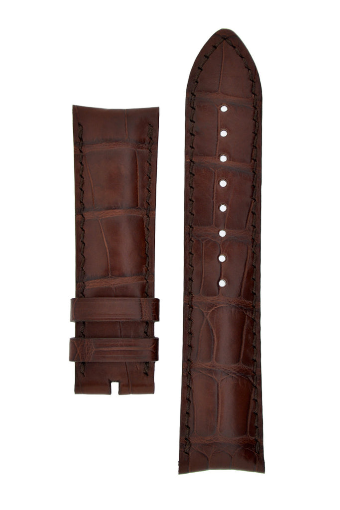 Vacheron Constantin Alligator Leather Watch Strap in BROWN
