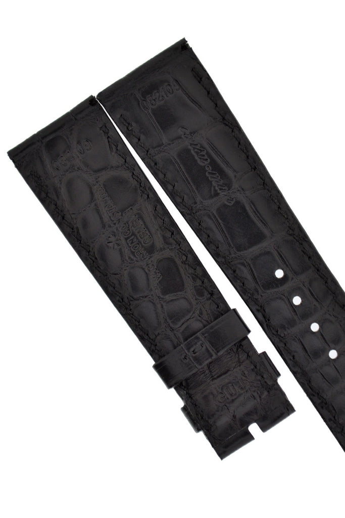 Vacheron Constantin Alligator Leather Watch Strap in BLACK