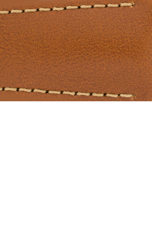 Load image into Gallery viewer, Hirsch VOYAGER Calfskin Deployment Watch Strap in GOLD BROWN/GOLD BROWN
