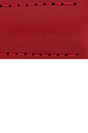 Load image into Gallery viewer, Hirsch VOYAGER Calfskin Deployment Watch Strap in RED/RED