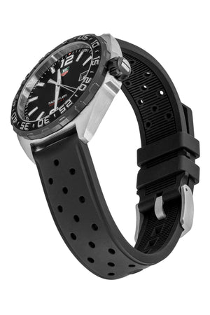 TAG HEUER WAZ1110.FT8023 Formula 1 Quartz Watch 41mm – Black Dial & Rubber Strap