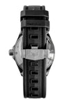 TAG HEUER WBD1110.FT8021 Aquaracer 300m 41mm Quartz Watch - Black Dial with Rubber Strap