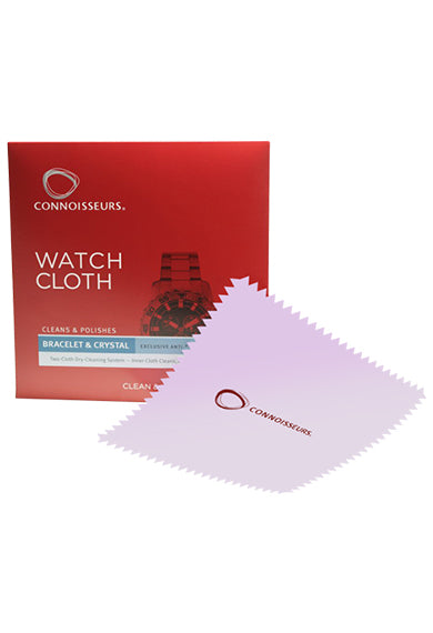 CONNOISSEURS Watch Cloth for Bracelet & Crystal