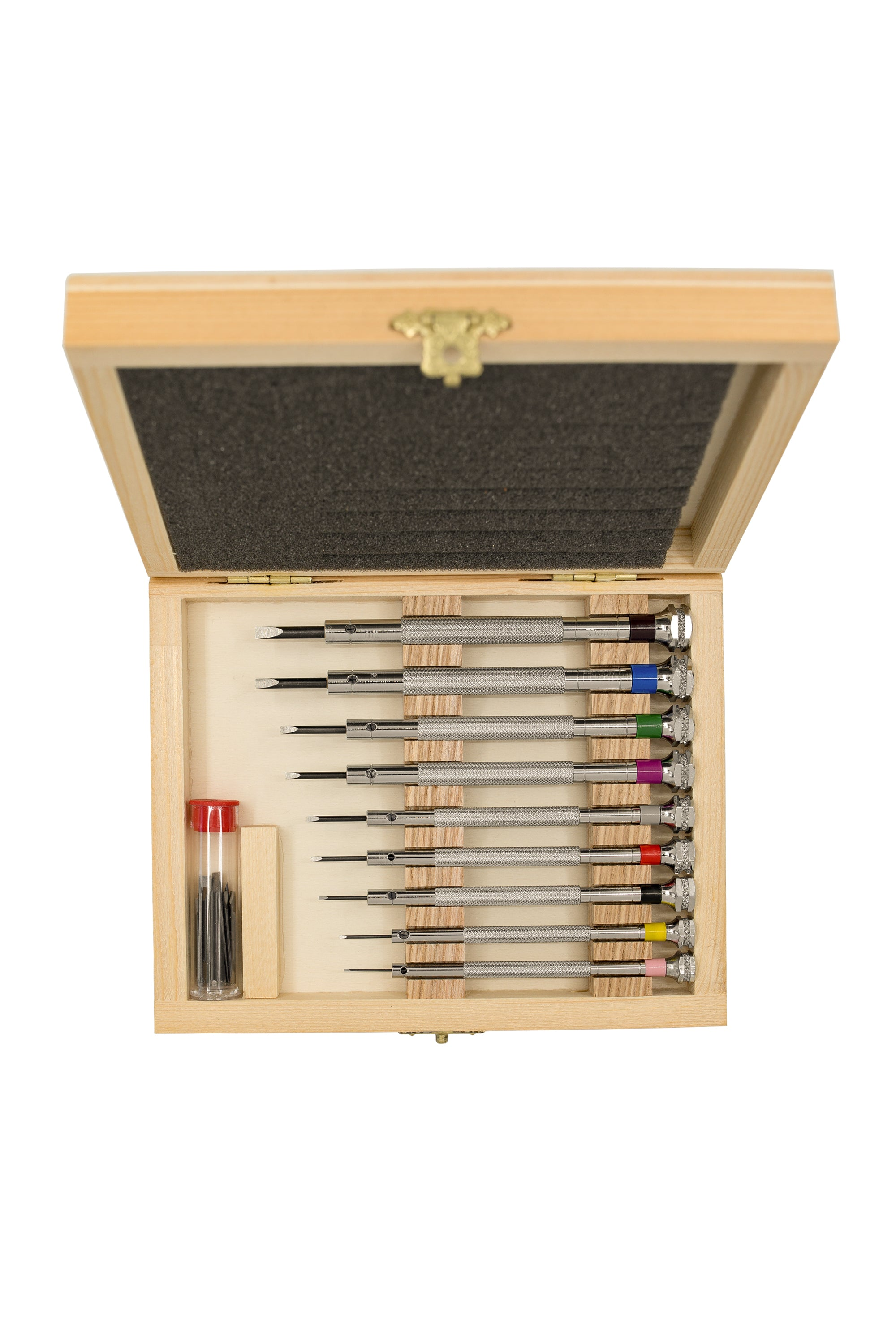 BECO TECHNIC Watch Screwdriver Wooden Box Set