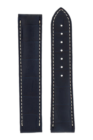 OMEGA CUZ009857 Speedmaster Alligator Watch Strap Tokyo 2020 Special in BLUE